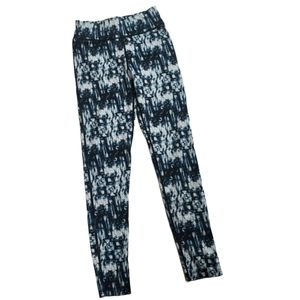 Jvini Tie Dyed Geometric Abstract Leggings| M